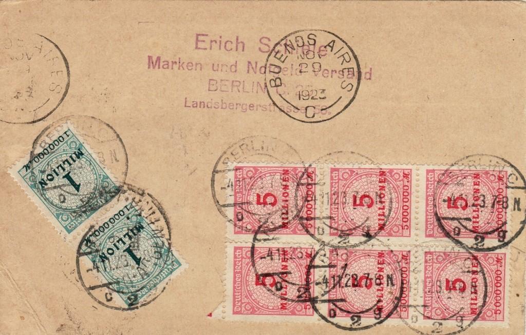 Deutsches Reich Okt. 1918 bis Nov. 1923 Infla-11