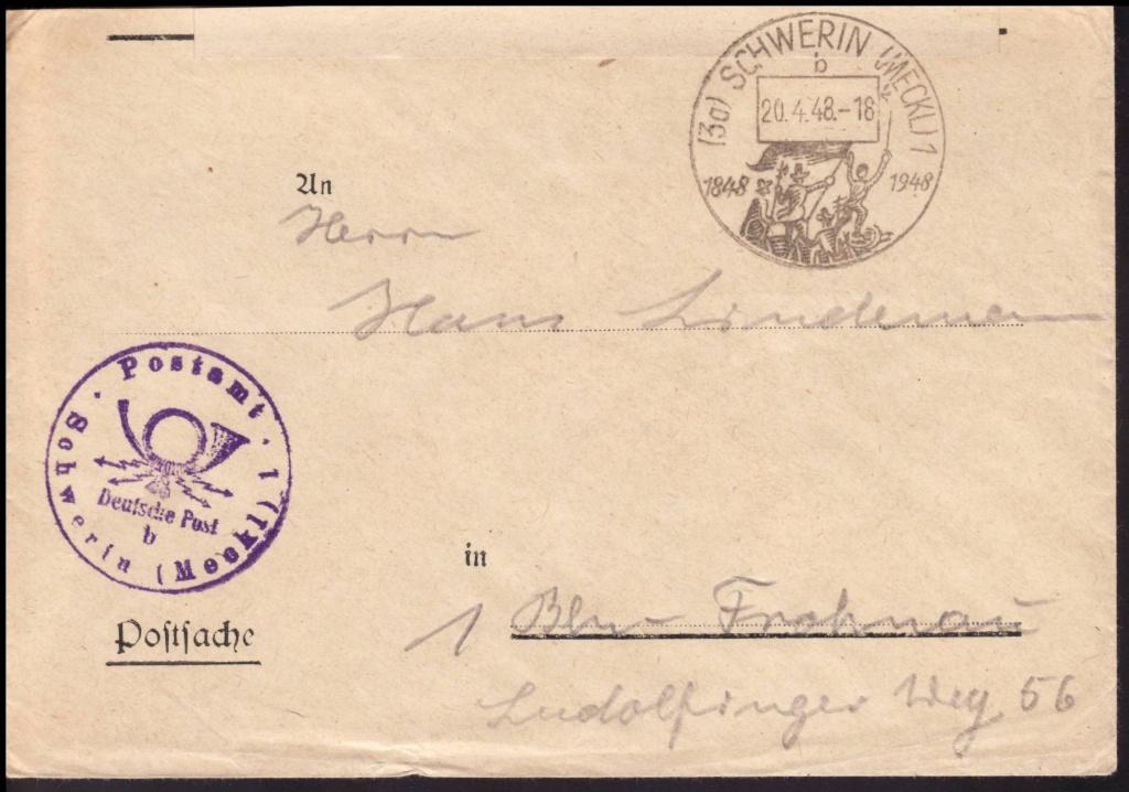 Mecklenburg - Vorpommern (OPD Schwerin) -Sowjetische Besatzungszone - Seite 8 Postsa10