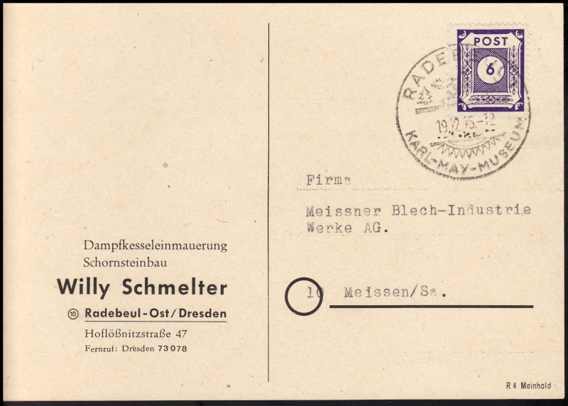 Ostsachsen (OPD Dresden) -Sowjetische Besatzungszone- - Seite 6 Werbe110