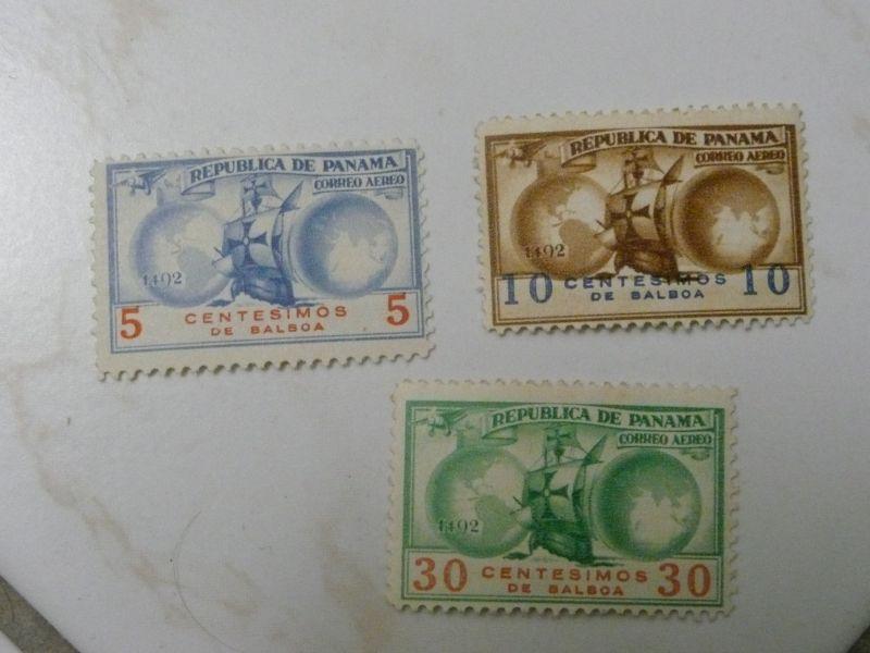 Briefmarken aus Panama P1090311