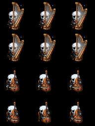 Squelette Musicien Squell10