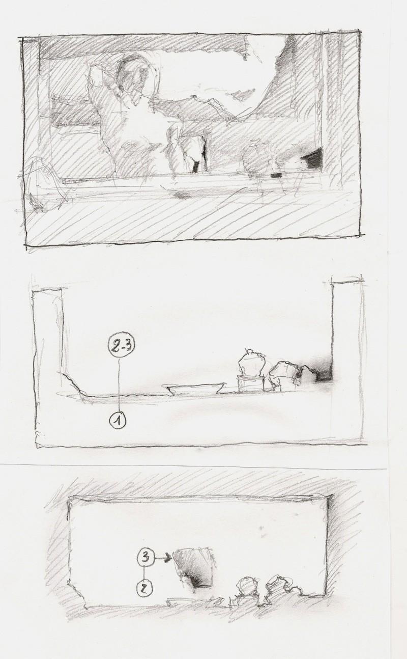 Bonnard, la peinture, la tonalité, la partie de cache-cache devant la cheminée. - Page 2 Bonnar10