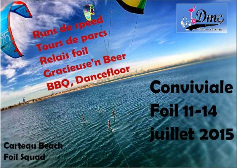 Conviviale foil DMC 11-14 juillet à carteau beach 11017610