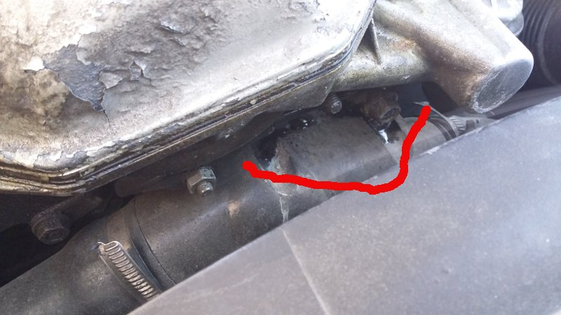 [BMW 328 i E36] Problème de surchauffe moteur : Engine : M52 20150510
