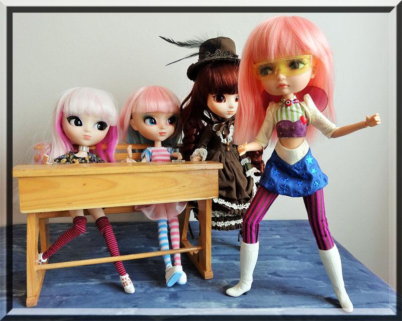 Soom Lila Doll Diablesse Gosty Ghosty et les Pullip  110
