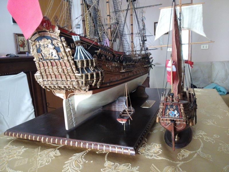 Yacht Mary 1660 (mamoli kit modificato) Img_2031