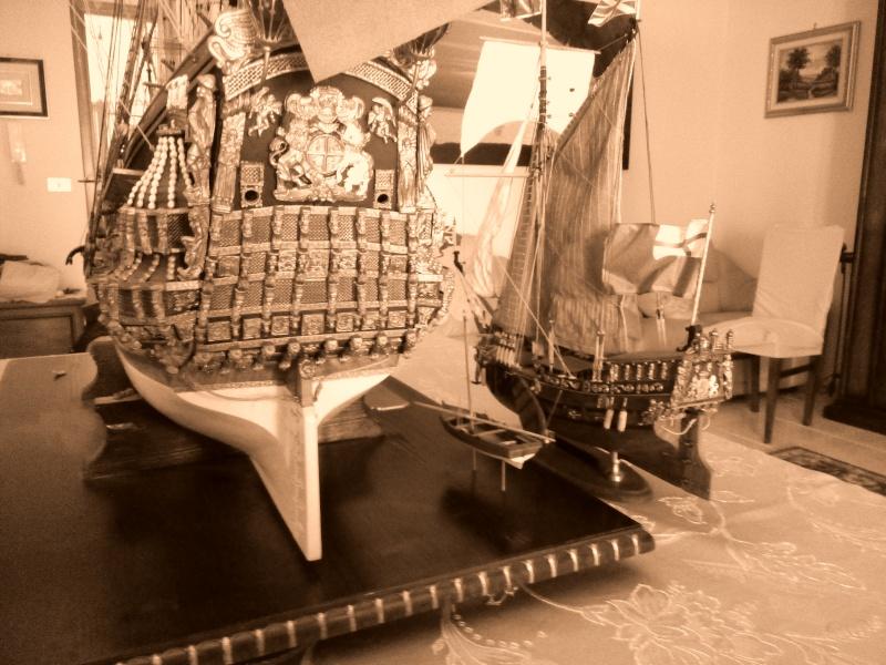 Yacht Mary 1660 (mamoli kit modificato) Img_2034