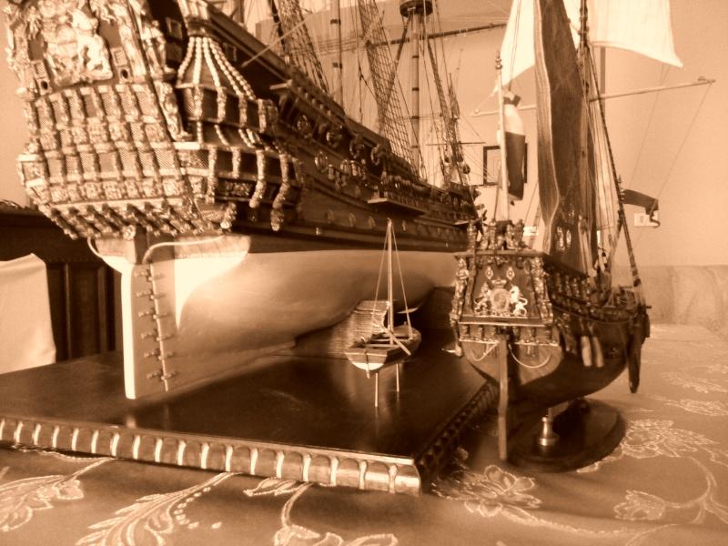 Yacht Mary 1660 (mamoli kit modificato) Img_2035