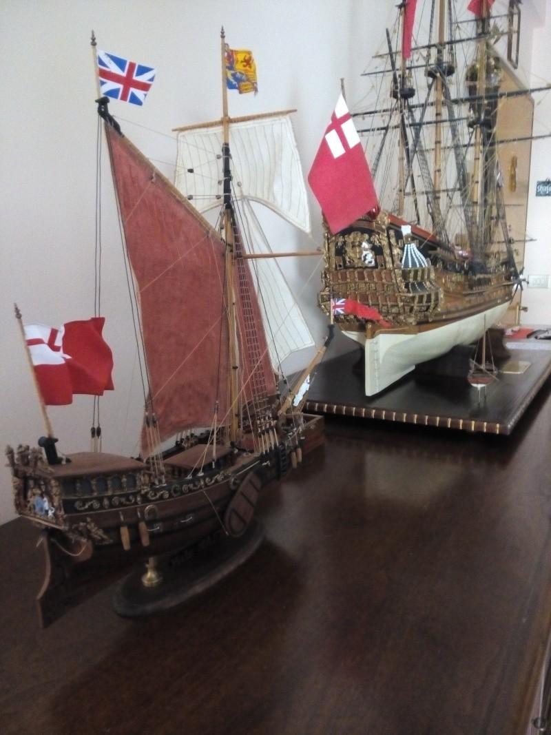 Yacht Mary 1660 (mamoli kit modificato) Img_2038