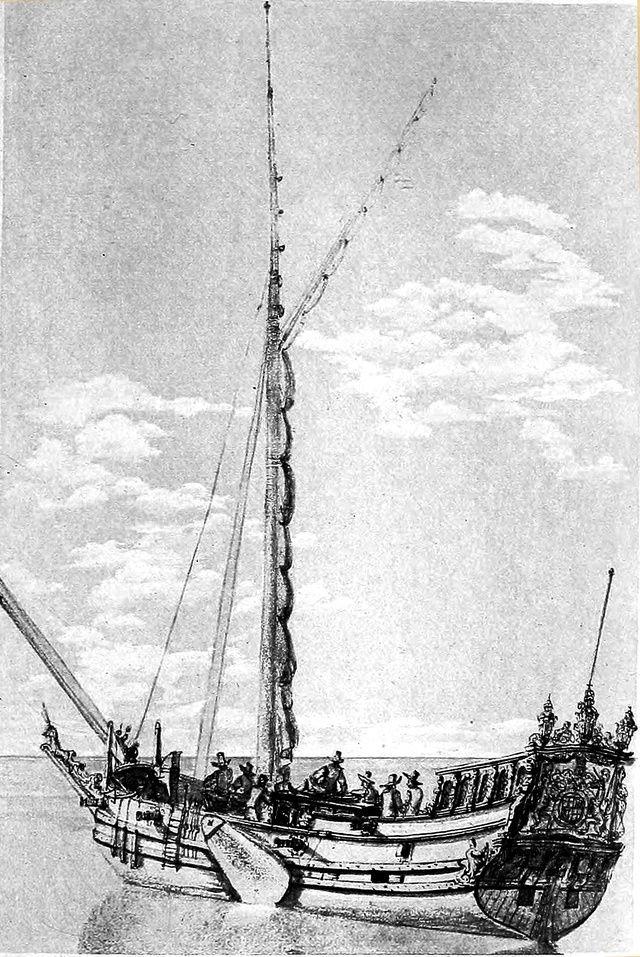 Yacht Mary 1660 (mamoli kit modificato) Mary_110