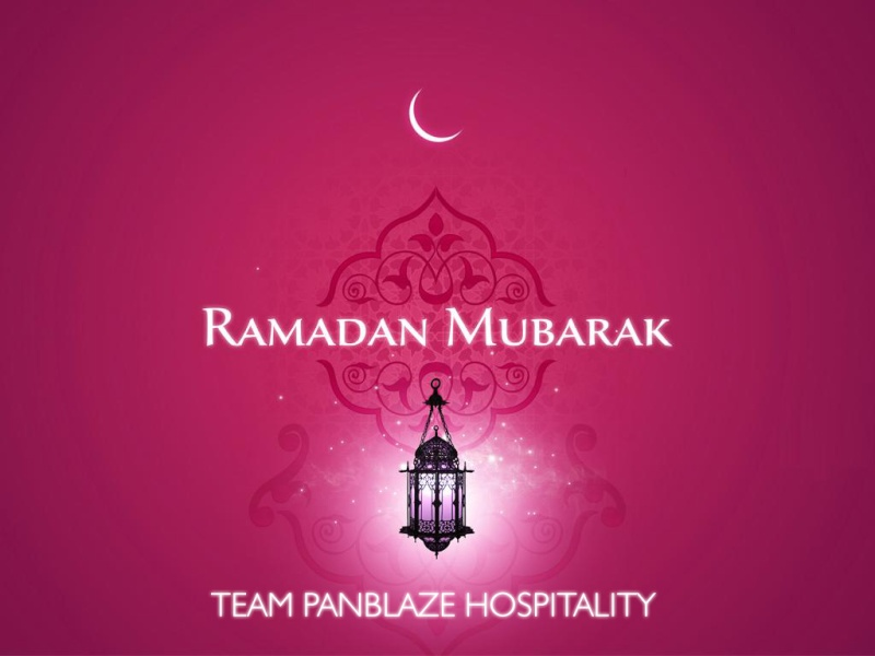 Team PanBlaze Hospitality wishes Happy Ramadan  Ramada10