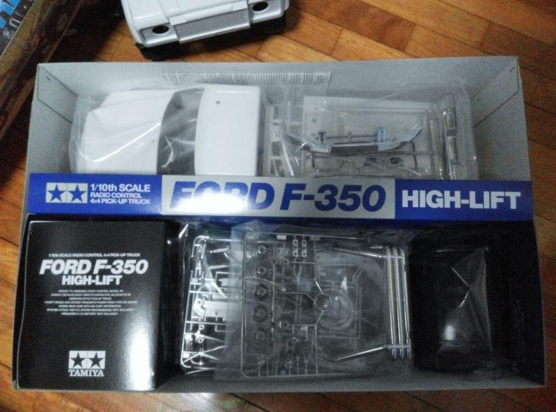 tamiya - Selling Tamiya Ford F-350 High Lift Ford_f12