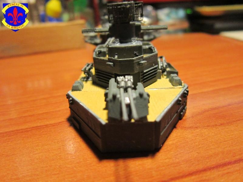 Croiseur de bataille Scharnhorst par Pascal 72 de Dragon au 1/350 4810