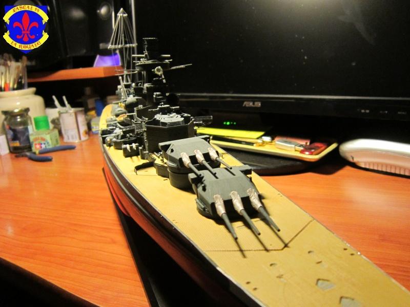 Croiseur de bataille Scharnhorst par Pascal 72 de Dragon au 1/350 5310