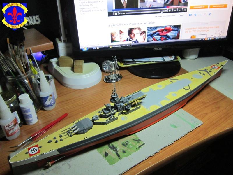 Croiseur de bataille Scharnhorst par Pascal 72 de Dragon au 1/350 6010