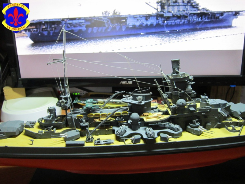 Croiseur de bataille Scharnhorst par Pascal 72 de Dragon au 1/350 6110