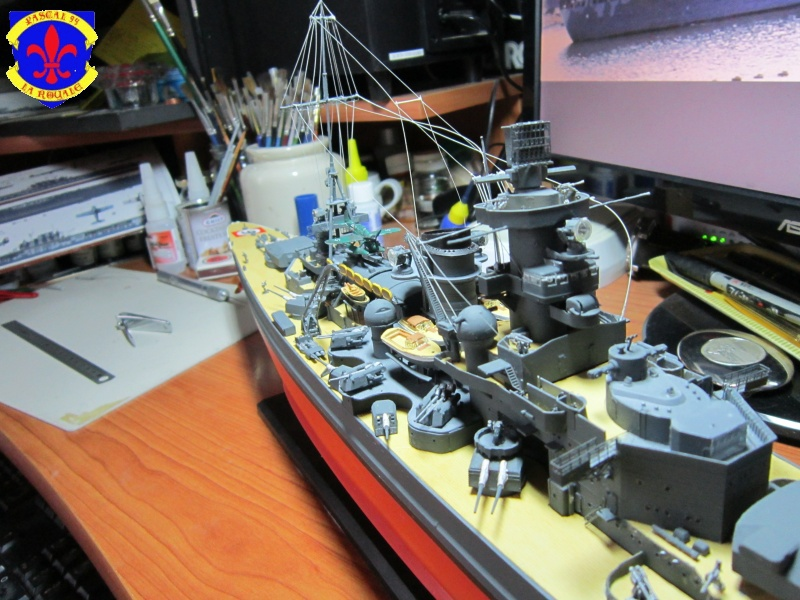 Croiseur de bataille Scharnhorst par Pascal 72 de Dragon au 1/350 6310