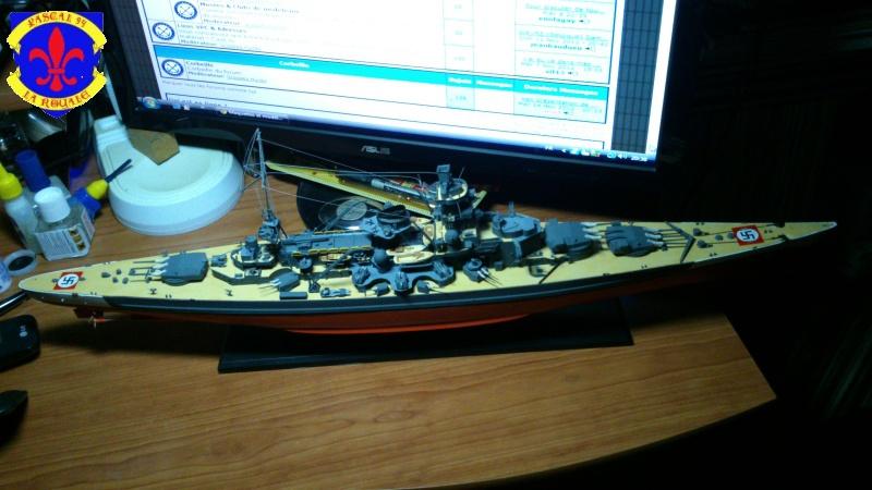Croiseur de bataille Scharnhorst par Pascal 72 de Dragon au 1/350 6710