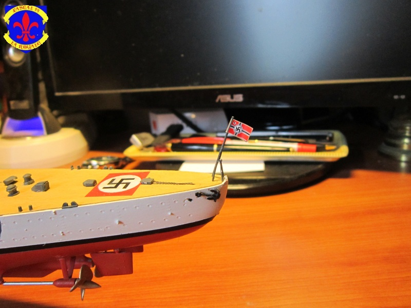 Croiseur de bataille Scharnhorst par Pascal 72 de Dragon au 1/350 7110