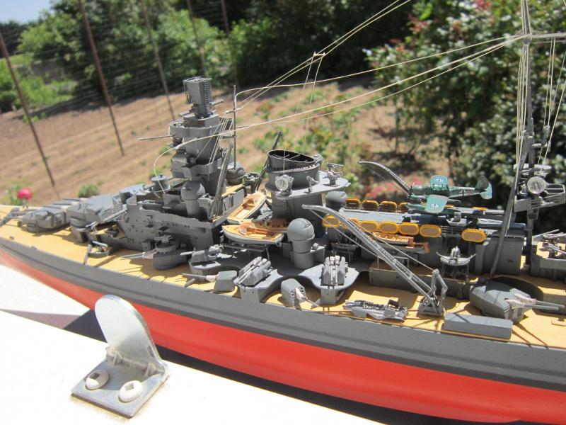 Croiseur de bataille Scharnhorst par Pascal 72 de Dragon au 1/350 8210