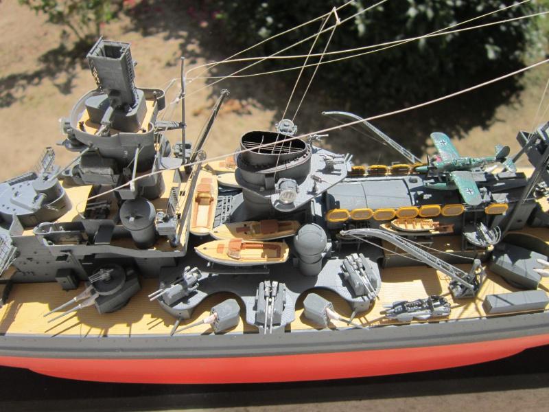 Croiseur de bataille Scharnhorst par Pascal 72 de Dragon au 1/350 8710