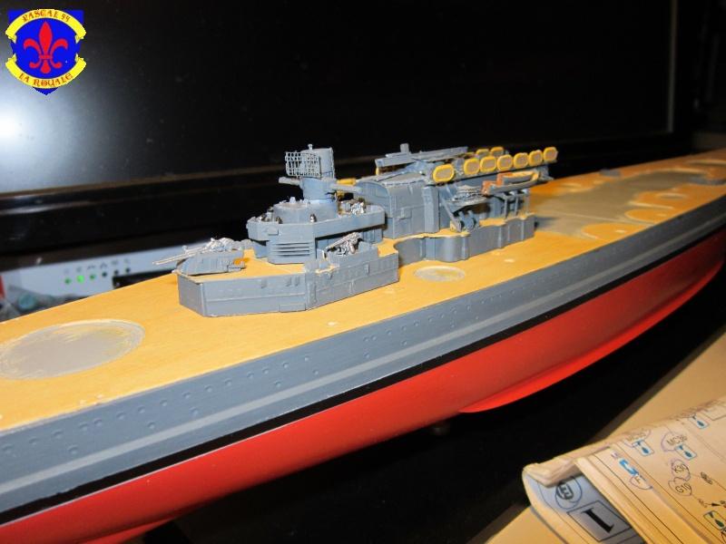 Croiseur de bataille Scharnhorst par Pascal 72 de Dragon au 1/350 B10