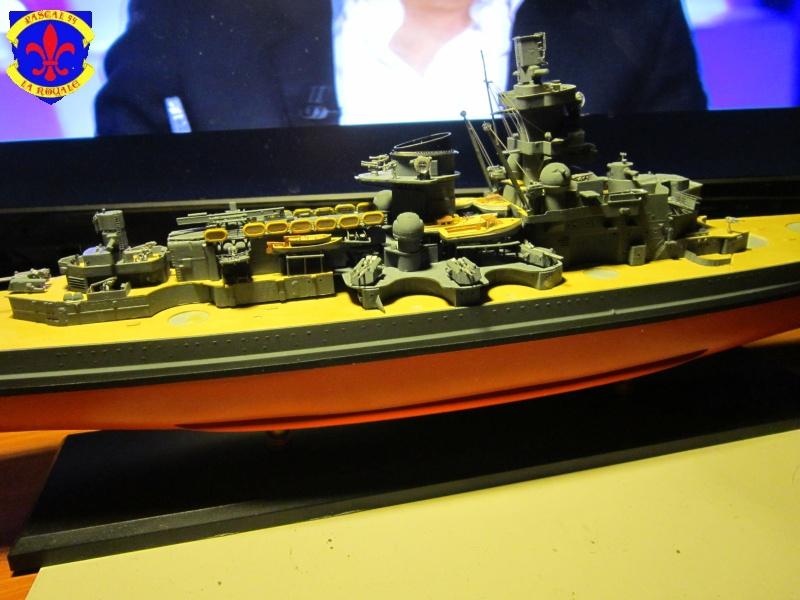 Croiseur de bataille Scharnhorst par Pascal 72 de Dragon au 1/350 E10
