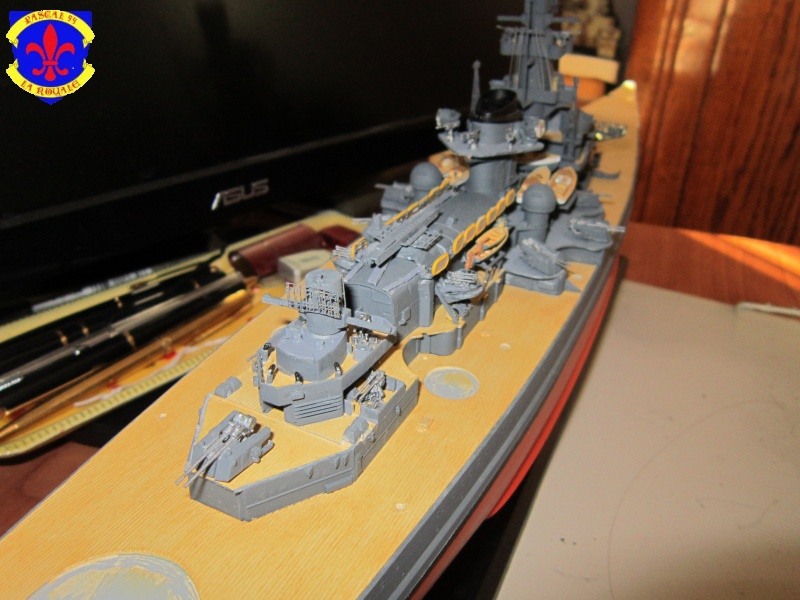 Croiseur de bataille Scharnhorst par Pascal 72 de Dragon au 1/350 G10