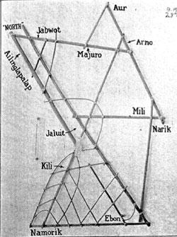 """Les cartes en bâtonnets, ou """"stick charts"""" des Iles Marshall (devinette dédiée à Northman) - Page 10 6a00d810"""