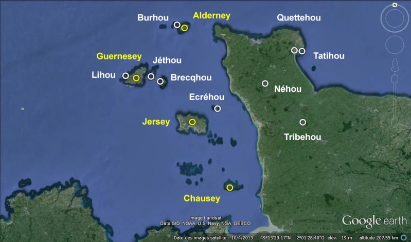 Les incroyables maisonnettes en pleine mer sur les îlots des Écréhou. - Page 4 Ey_hou11