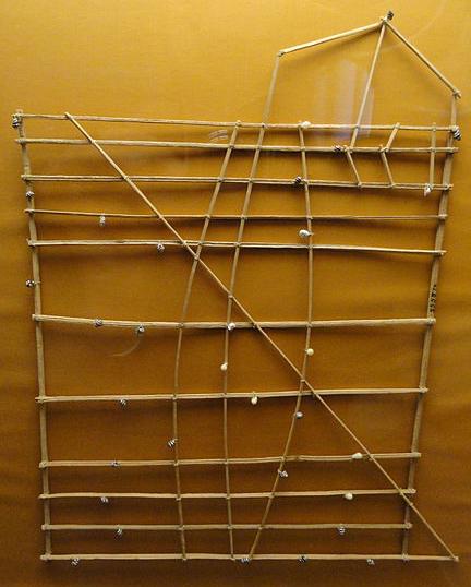 """Les cartes en bâtonnets, ou """"stick charts"""" des Iles Marshall (devinette dédiée à Northman) Rebbil10"""