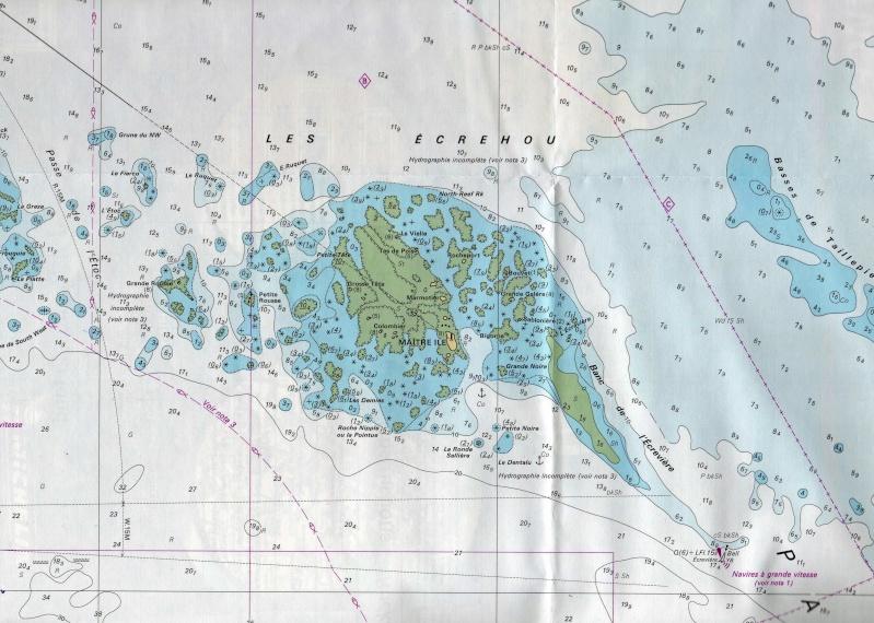 Les incroyables maisonnettes en pleine mer sur les îlots des Écréhou. - Page 4 Shom_e11