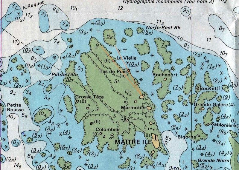 Les incroyables maisonnettes en pleine mer sur les îlots des Écréhou. - Page 5 Shom_e12
