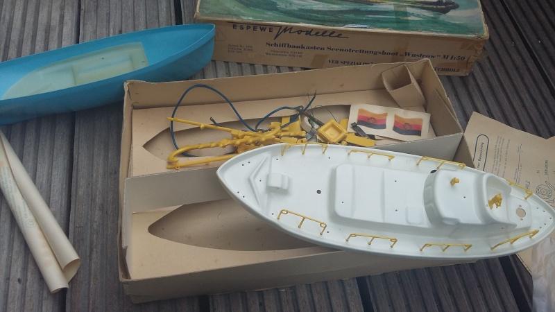 Suche Infos zum Espewe  Seenotrettungsboot M 1:50 Baukasten  20150612