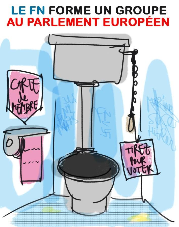 Le dessin humoristique du jour. 10478610