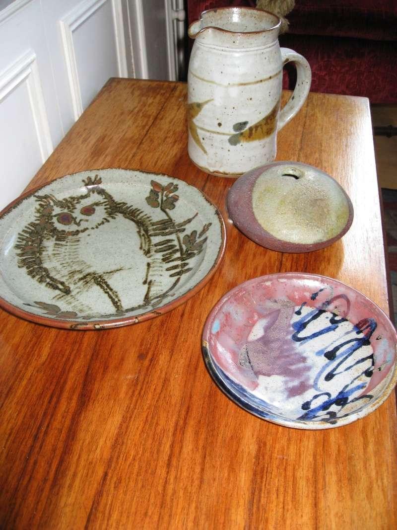 Splatter designed studio plate marked BW? Img_1420