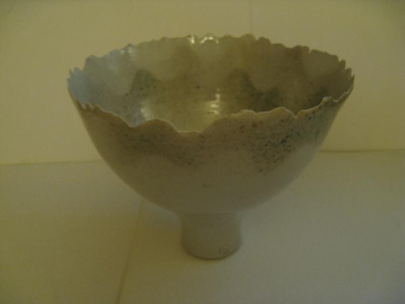 Quality studio vase/raised bowl  Img_1712