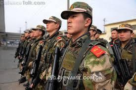 Les Forces armées de la république populaire de Chine. Sd210