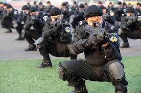 Les Forces armées de la république populaire de Chine. Swat310
