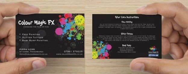 Show us your Business Card Update10