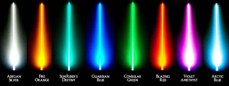 Favorite Lightsaber color? Which will you wield? 22f34f10