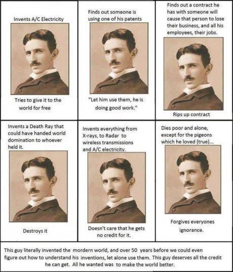 Nikola Tesla....the man who tapped 4D. Hero10