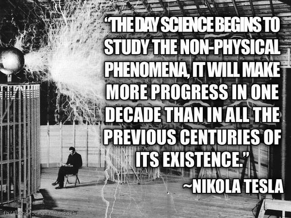 Nikola Tesla....the man who tapped 4D. Nonpys10