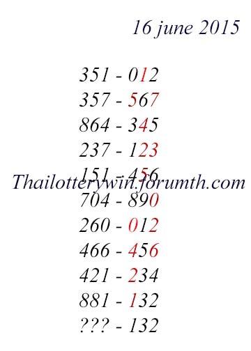 16.6.2015 free tips 1610