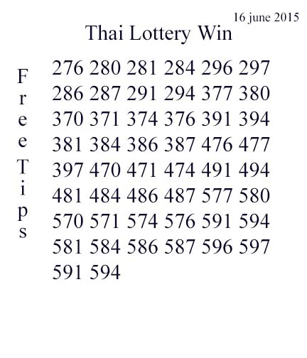 16.6.2015 free tips Free_t11