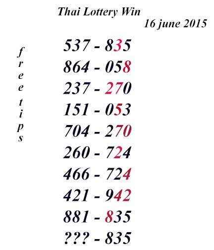 16.6.2015 free tips J10