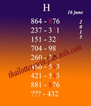 16.6.2015 free tips - Page 2 Thai10