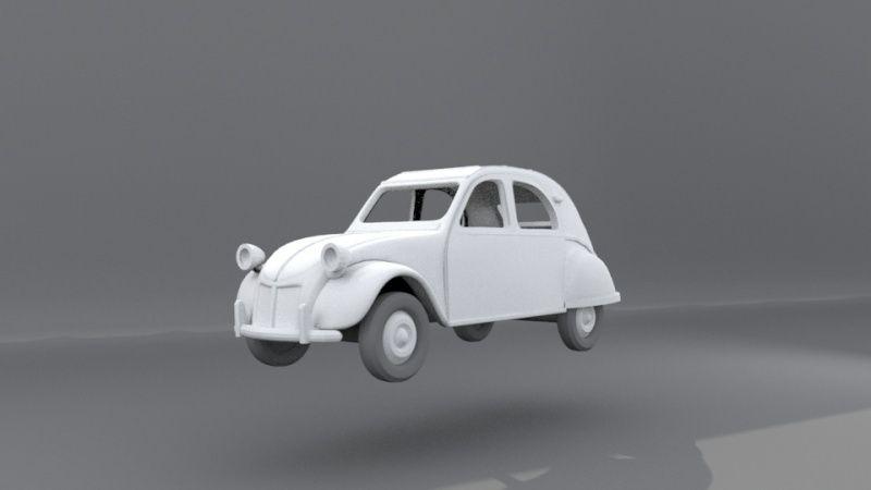 ou trouver des automobiles échelle Z? 2cv-0110