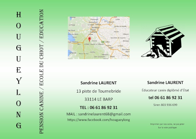 Sandrine Laurent, Educateur canin et pension canine O_55ad10