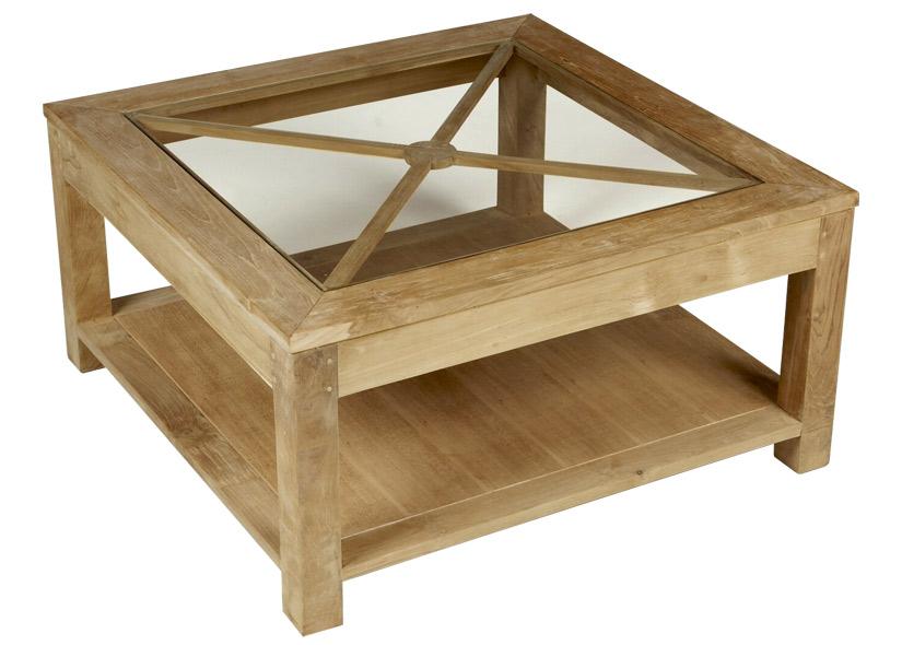 Table basse avec inclusion d'un plateau de backgammon Projet10